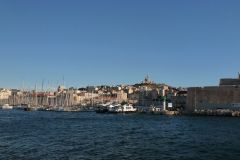 Einfahrt in den alten Hafen von Marseille